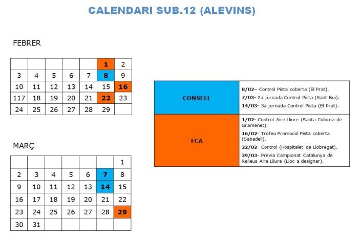 ALEVINS_SUB. 12
